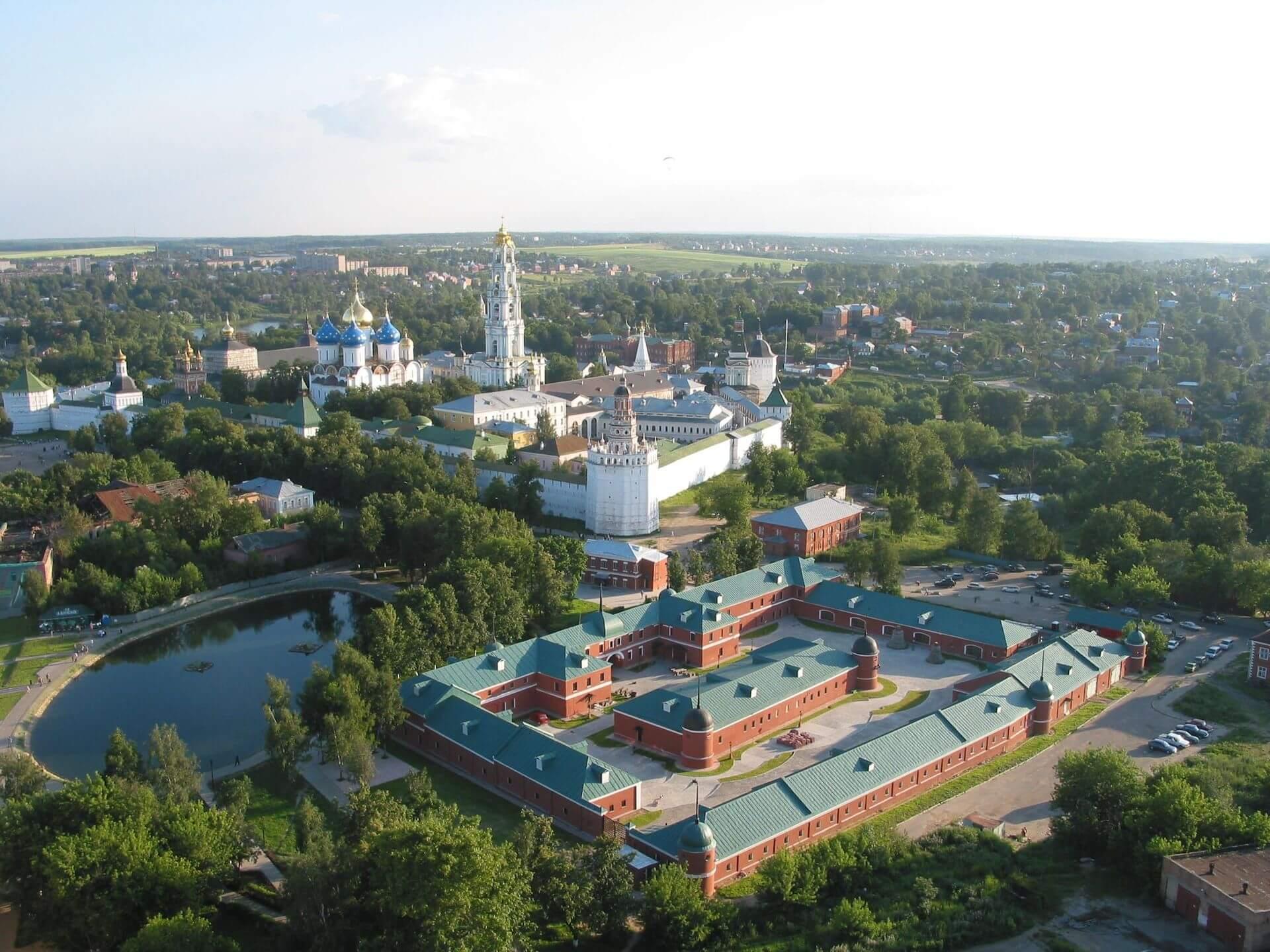 Сергиев Посад - один из центров русского православия
