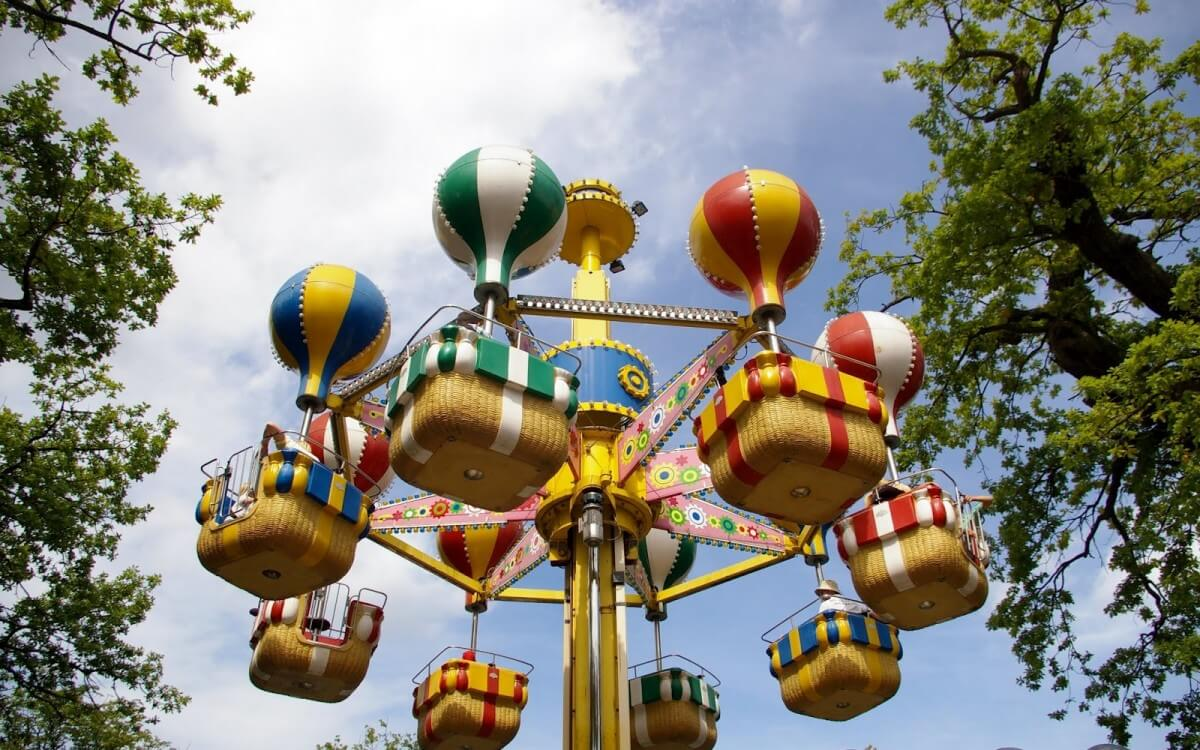 Парк развлечений Баккен (Копенгаген)
