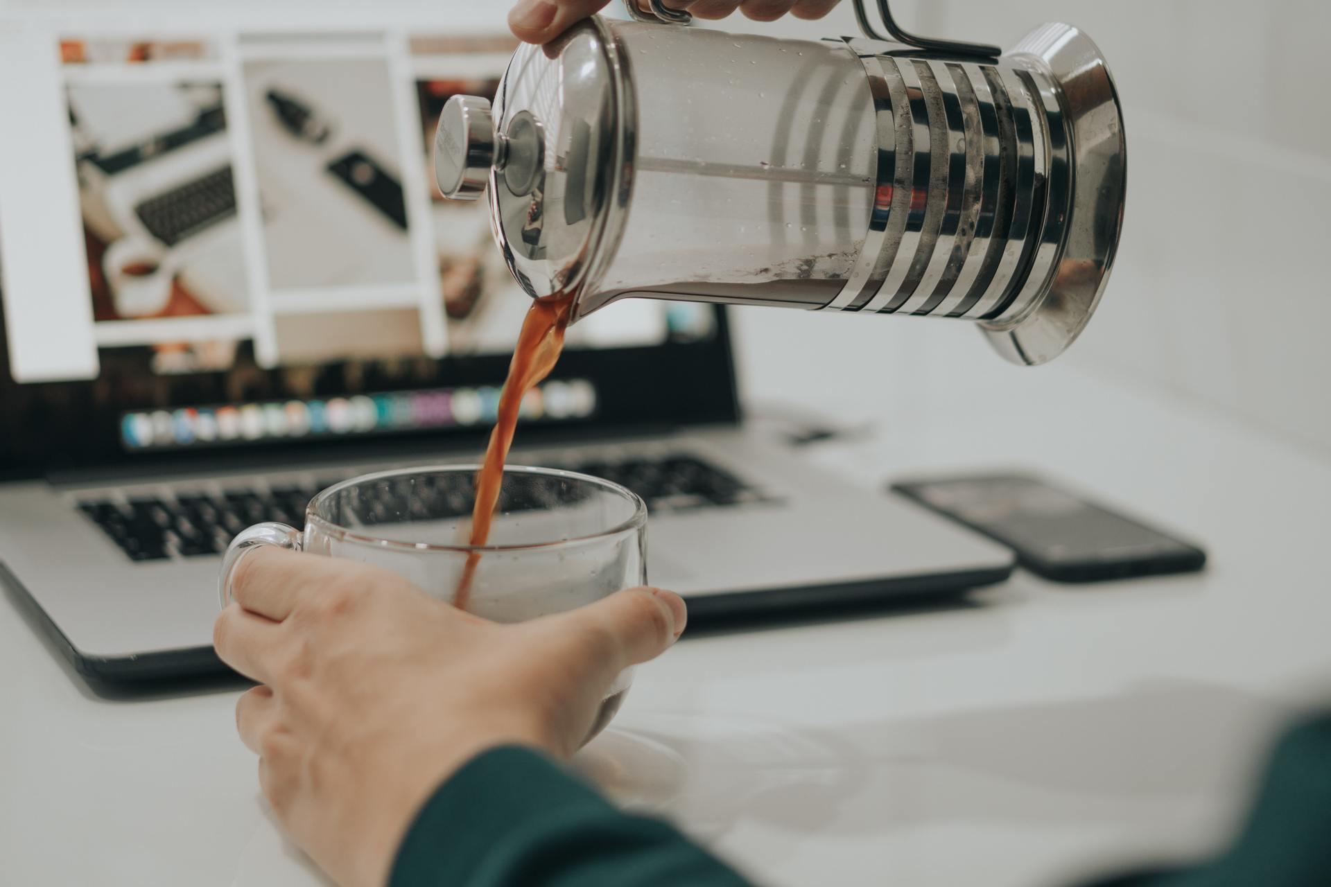 Простой и один из удобных способов для заваривания кофе дома