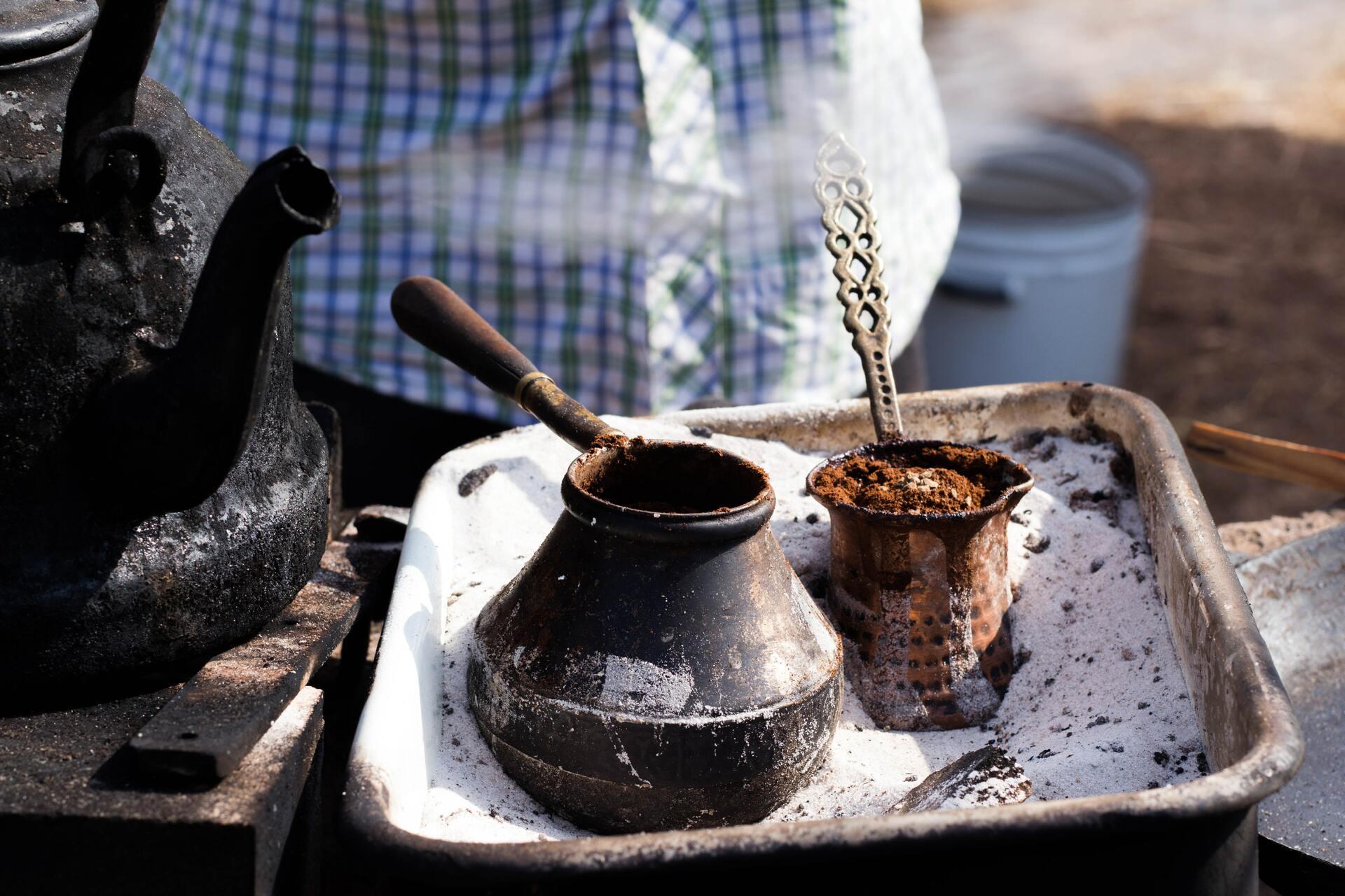 Один из старейших способов заваривания кофе