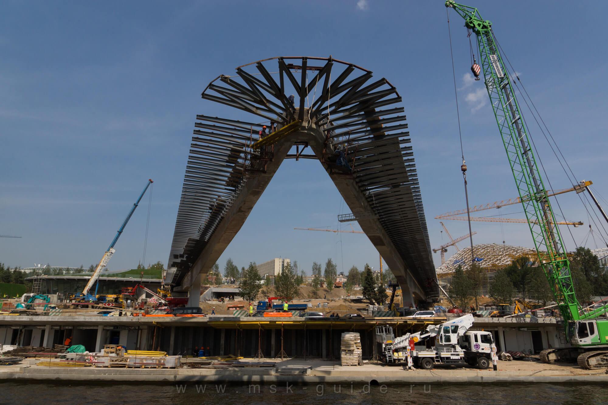 Парящий мост построен так, что упасть он не может