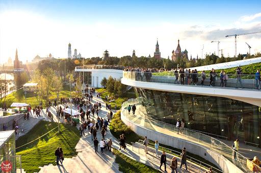 На строительство парка ушло 14 миллиардов рублей