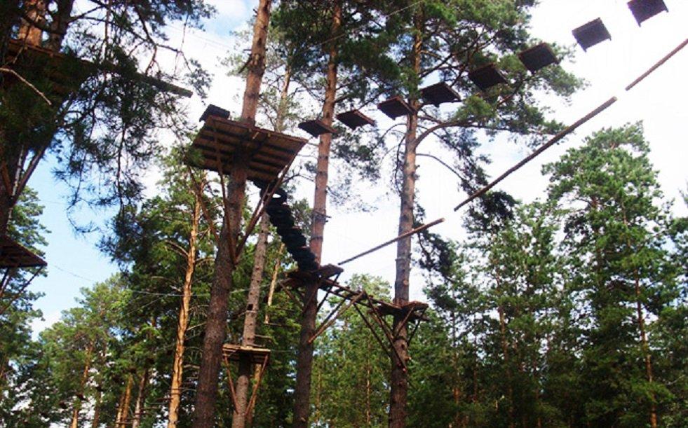 Веревочный парк Тарзан-парк