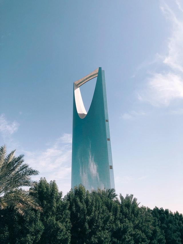 Самое высокое здание города видно из любой точки Эр-Рияда