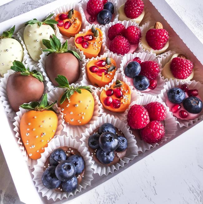 Ассорти ягод в шоколаде NottaBelle